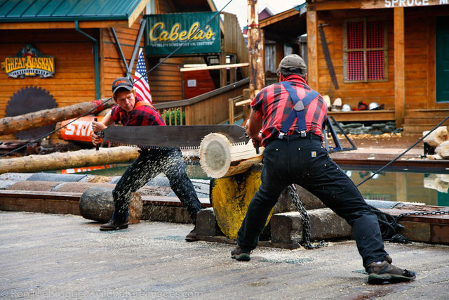 Alaskan Lumberjack Show