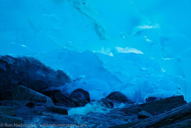 Mendenhall Glacier Cave