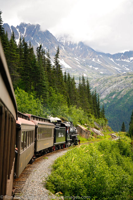 Tongass National Forest, Inside Passage, Alaska, Skagway, train