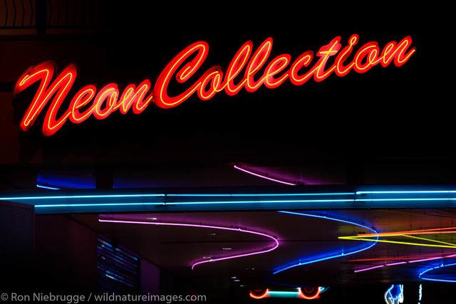 Neon signs, Downtown Las Vegas.