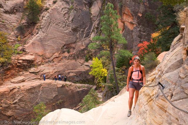 Hidden Canyon Trail, Zion