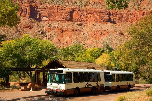 Shuttle Bus, Zion National Park