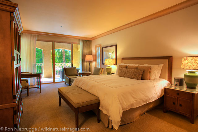 A room at the Phoenician Resort