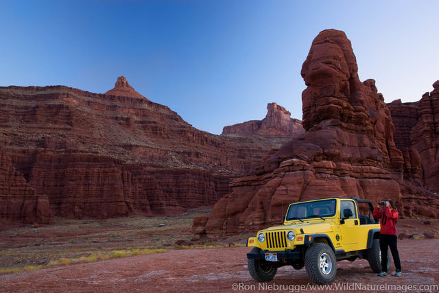 Jeep on Potash Road