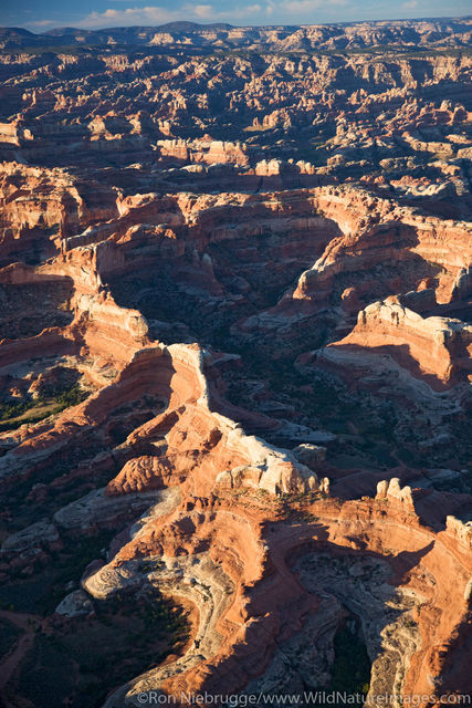 Aerial Canyonlands National Park