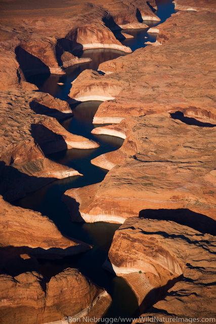 Aerial Moqui Canyon