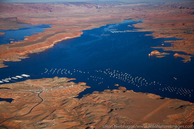 Aerial Lake Powell