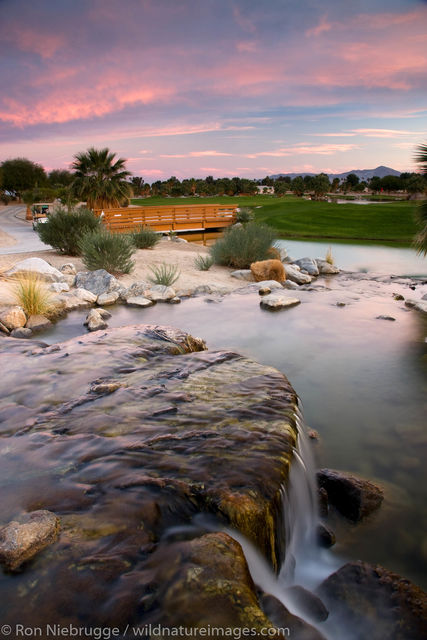 The golf course at the Springs at Borrego,