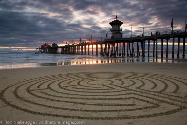 Orange County, California, Huntington Beach Pier, Huntington Beach