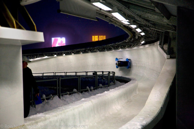 bobsled, Whistler, Canada