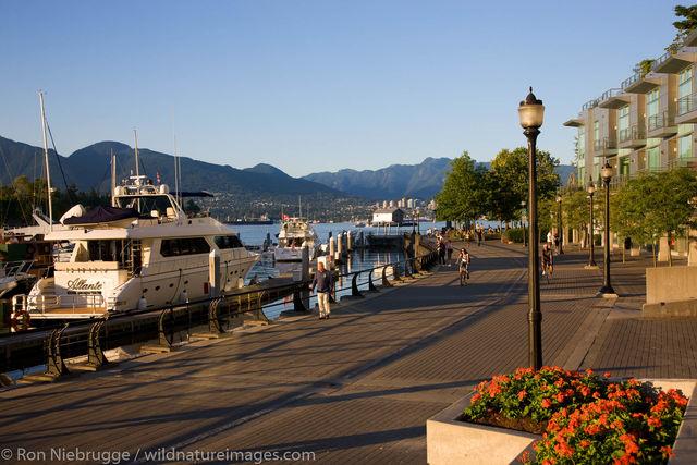 Walkway along the waterfront