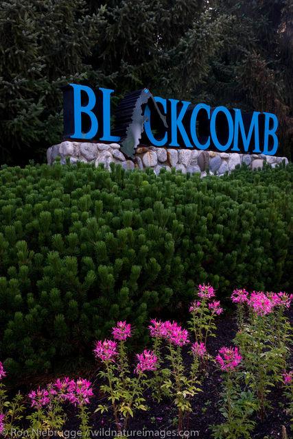 Blackcomb, Whistler,  Canada.