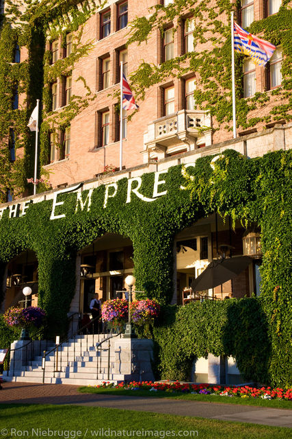 The historic Empress Hotel