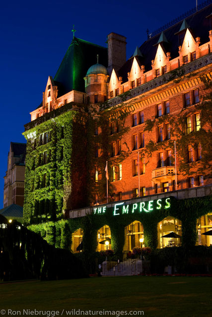 historic Empress Hotel