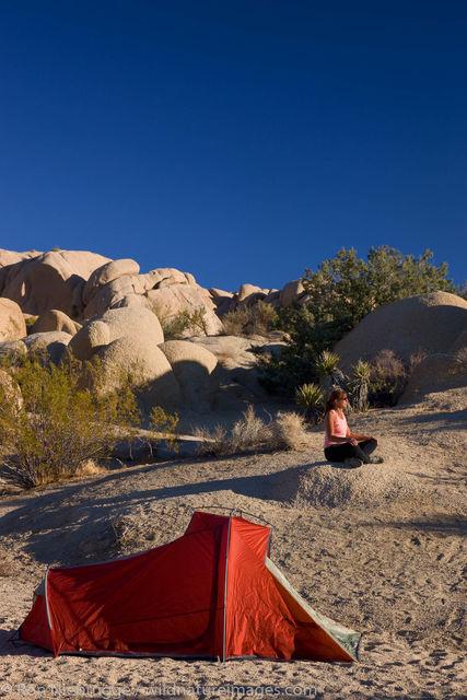 Camping, Joshua Tree National Park