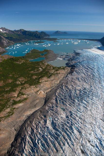 Aerial of Bear Glacier