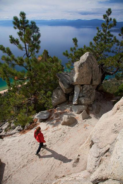Hiking Flume Trail
