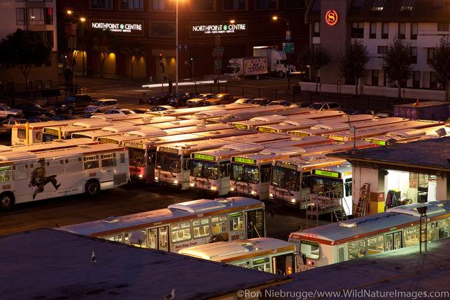 MUNI Bus Barn
