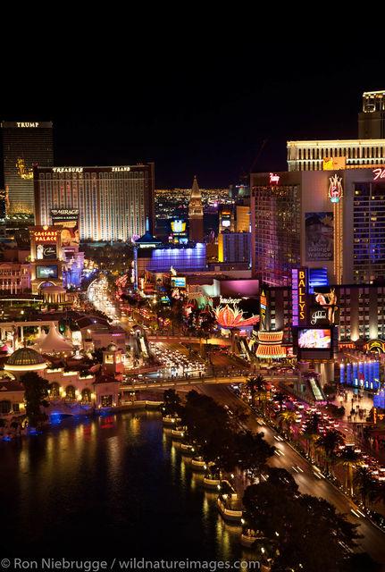 Vegas Strip at Niight
