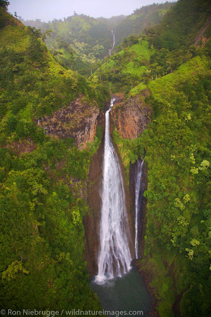 Manawaiopuna Falls,  more famously known as the Jurassic Falls