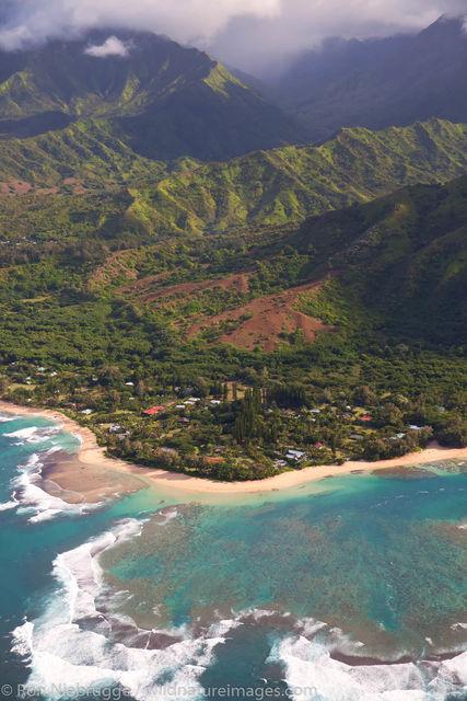 Ha'ena Beach Park, Kauai, Hawaii