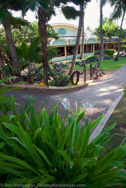 Mama's Fish House, Maui, Hawaii.