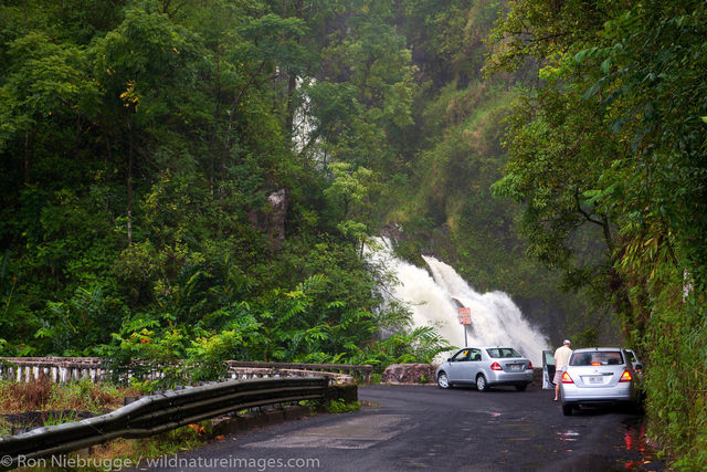 the Hana Highway, Maui, Hawaii.