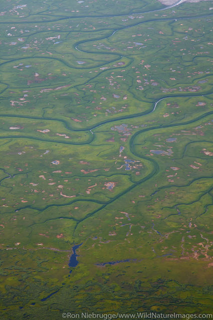 Aerial of Cook Inlet
