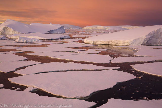 Below the Antarctica Circle