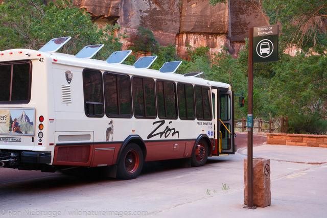 Shuttle Bus Zion National Park