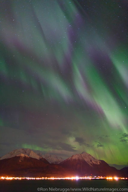 Northern Lights over Seward