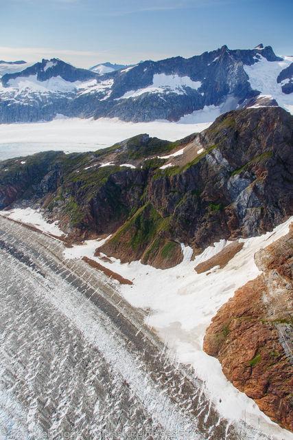 the Herbert Glacier