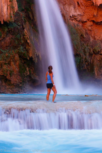 Havasu Falls, Grand Canyon, Arizona.