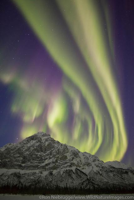 Arctic, Alaska, northern lights, aurora
