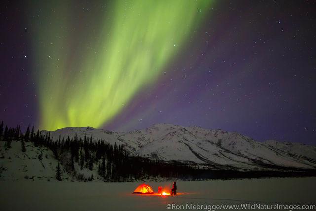 Aurora Borealis Camping