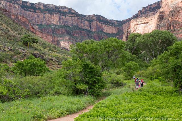 Hiking Bright Angel Trail