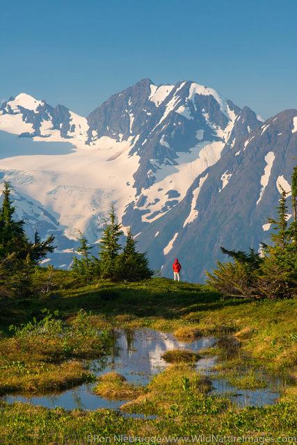 Hiking Spencer Glacier