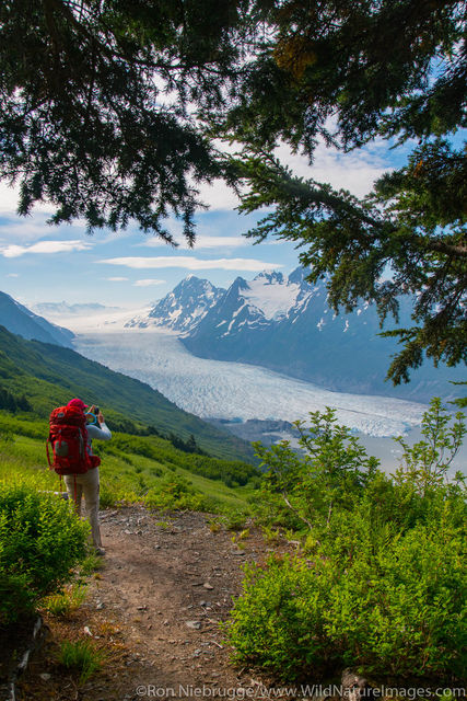 Backpacking on Spencer Glacier Trail