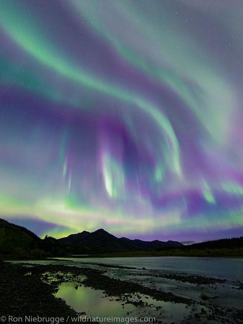 Arctic, Alaska, aurora