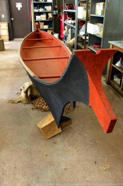 Prow Nose Canoe