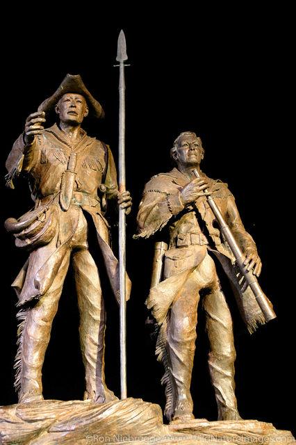 Lewis & Clark Statue