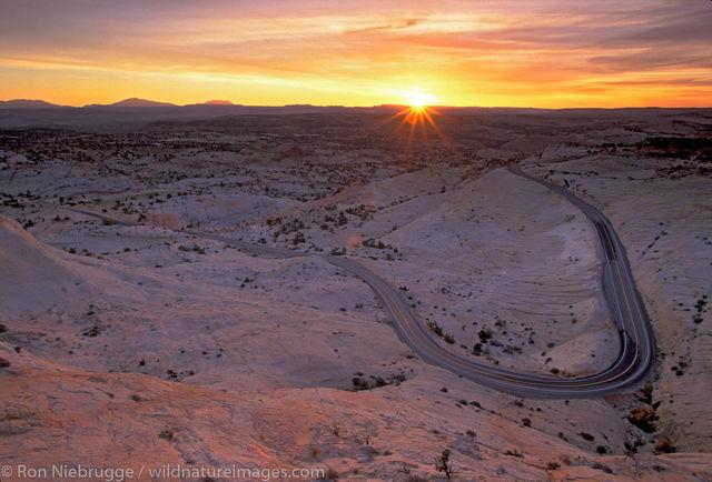 Highway 12 Sunrise