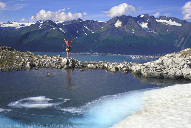 AK, Alaska, Alaskan, Americas, Chugach, Chugach National Forest, Kenai Peninsula, Model release, Mt. Alice, National, North America...