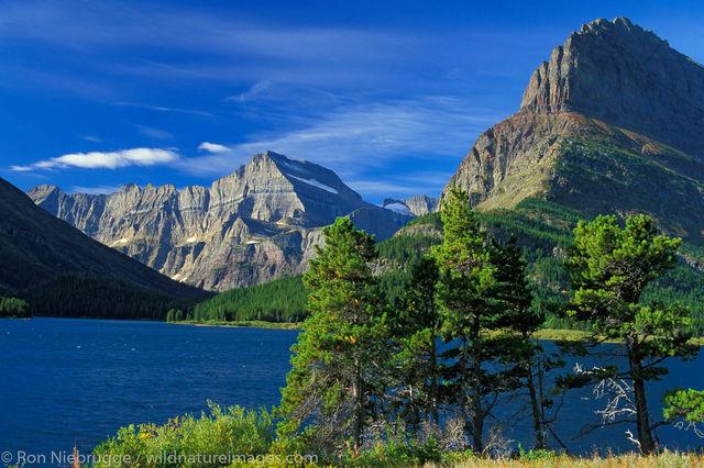 Americas, Big Sky State, Glacier National Park, MT, Montana, North America, North American, Ron Niebrugge, St Marys Lake, St....