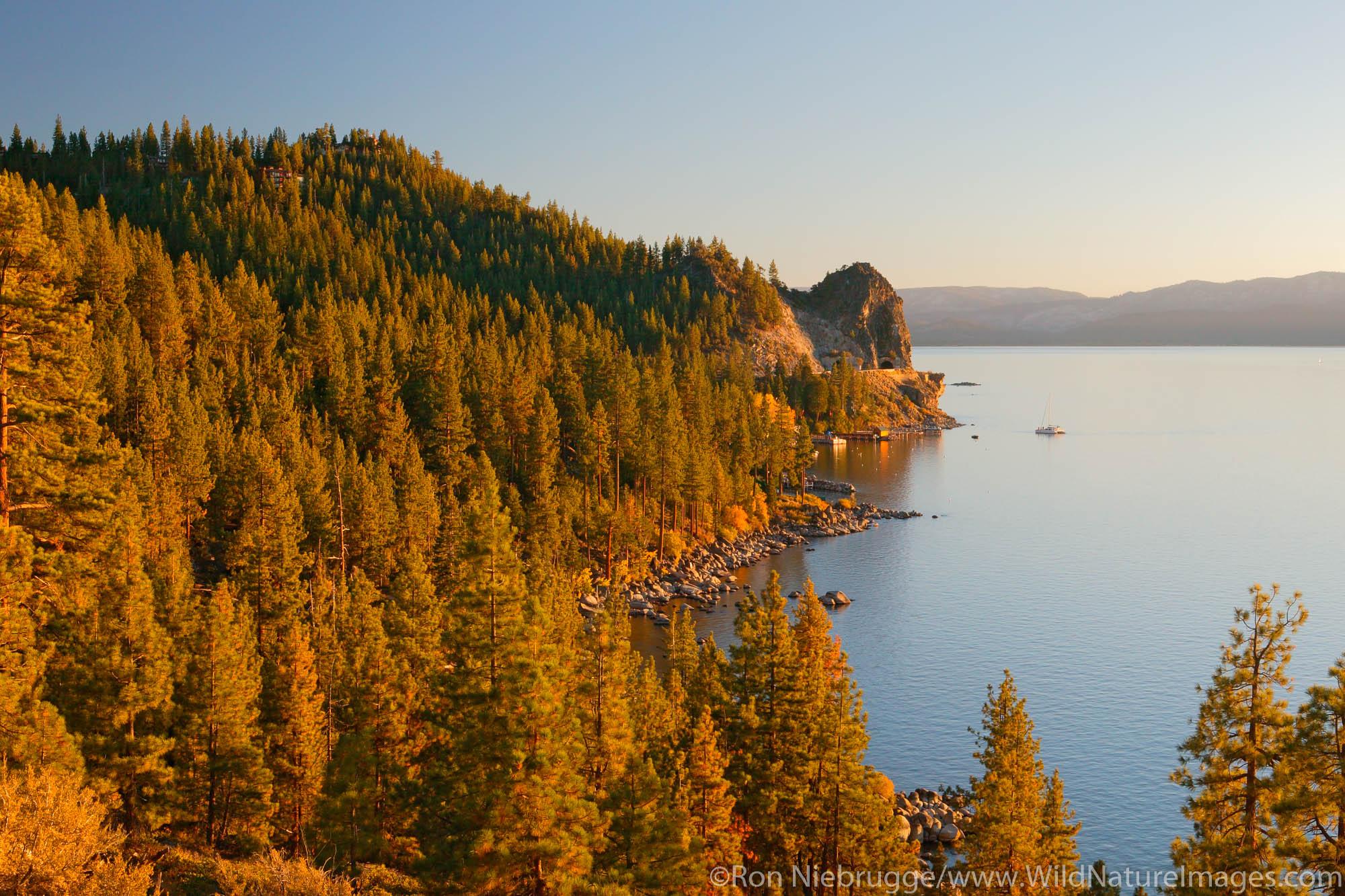 Lake Tahoe, Nevada / California.