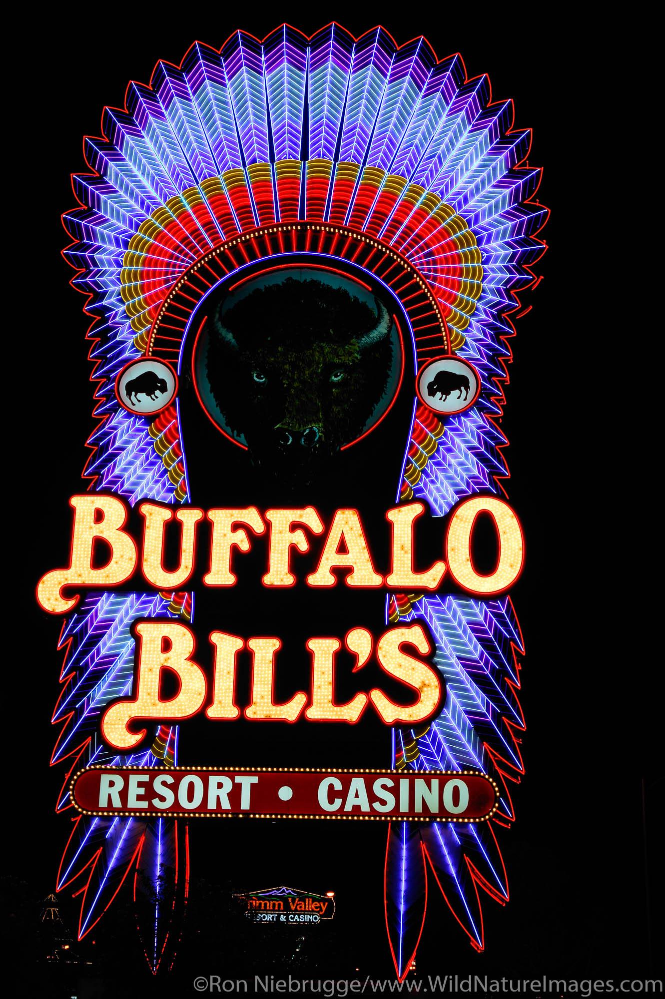 Buffalo Bill's Nevada / California state line, Nevada.