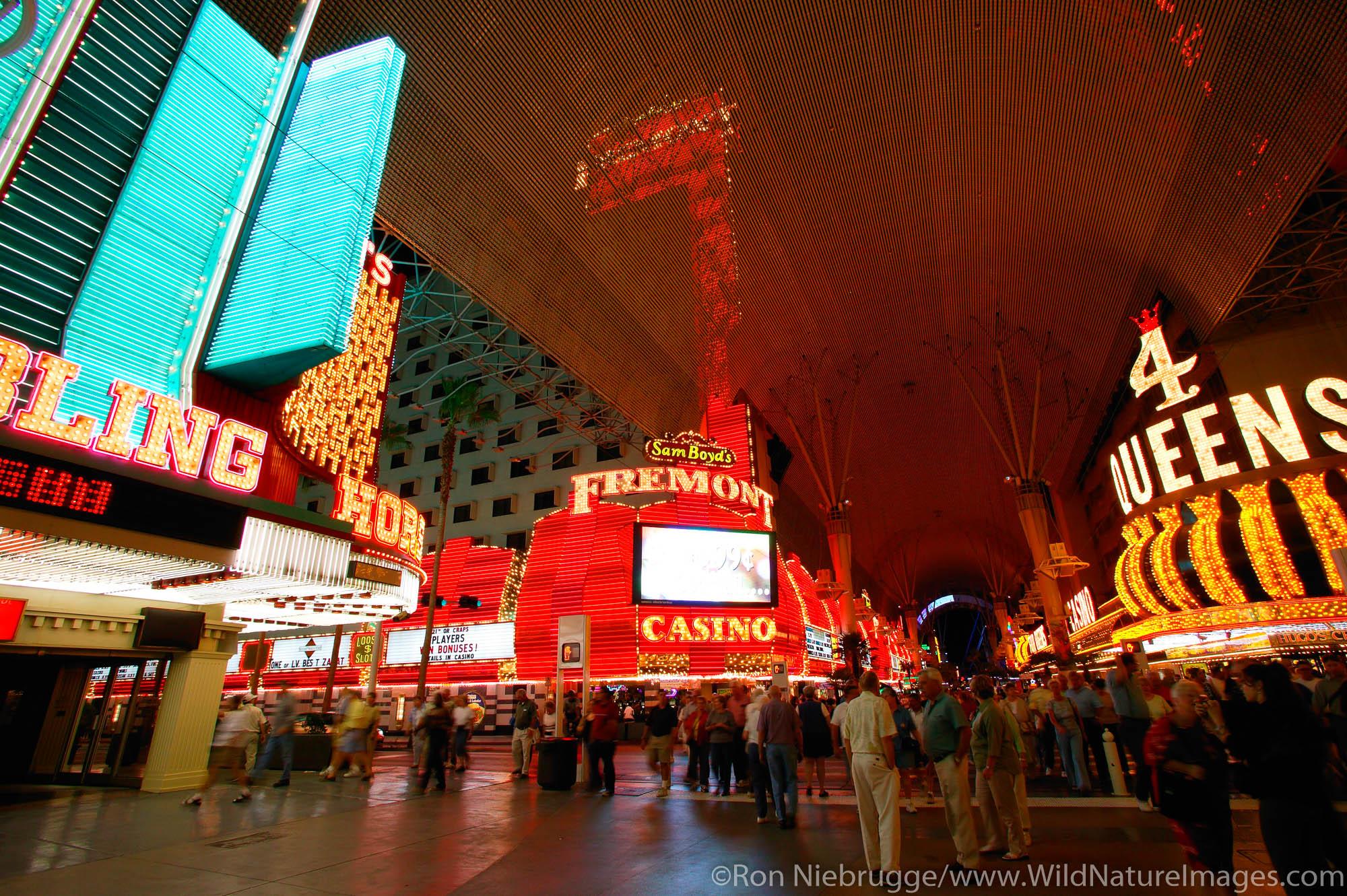 Downtown Las Vegas, Nevada.