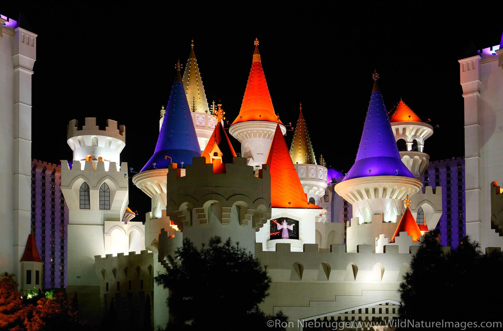 The Excaliber Casino and Hotel, Las Vegas, Nevada.