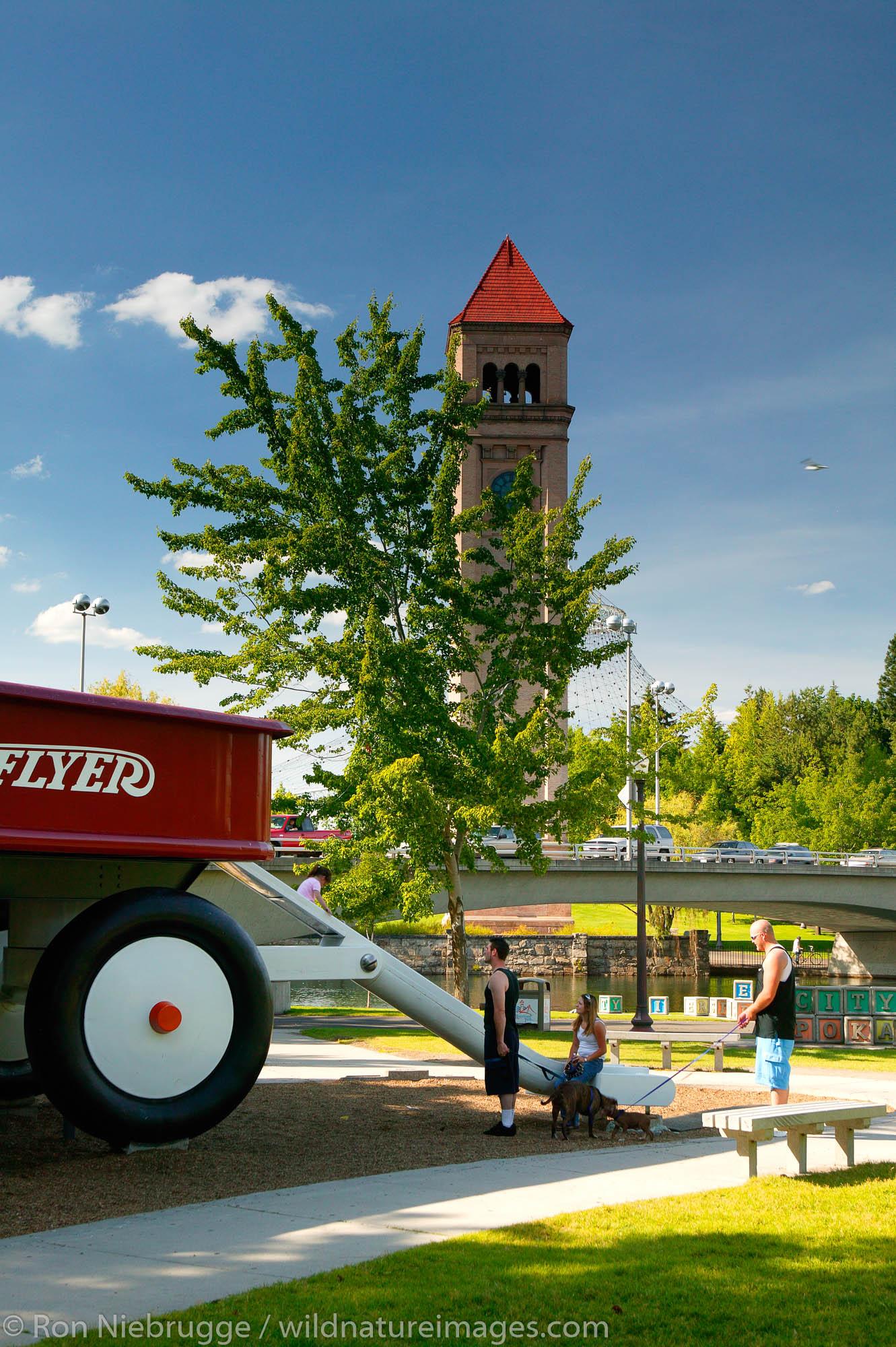 Riverfront Park, Spokane, Washington.  This was site of the 1974 World Expo.