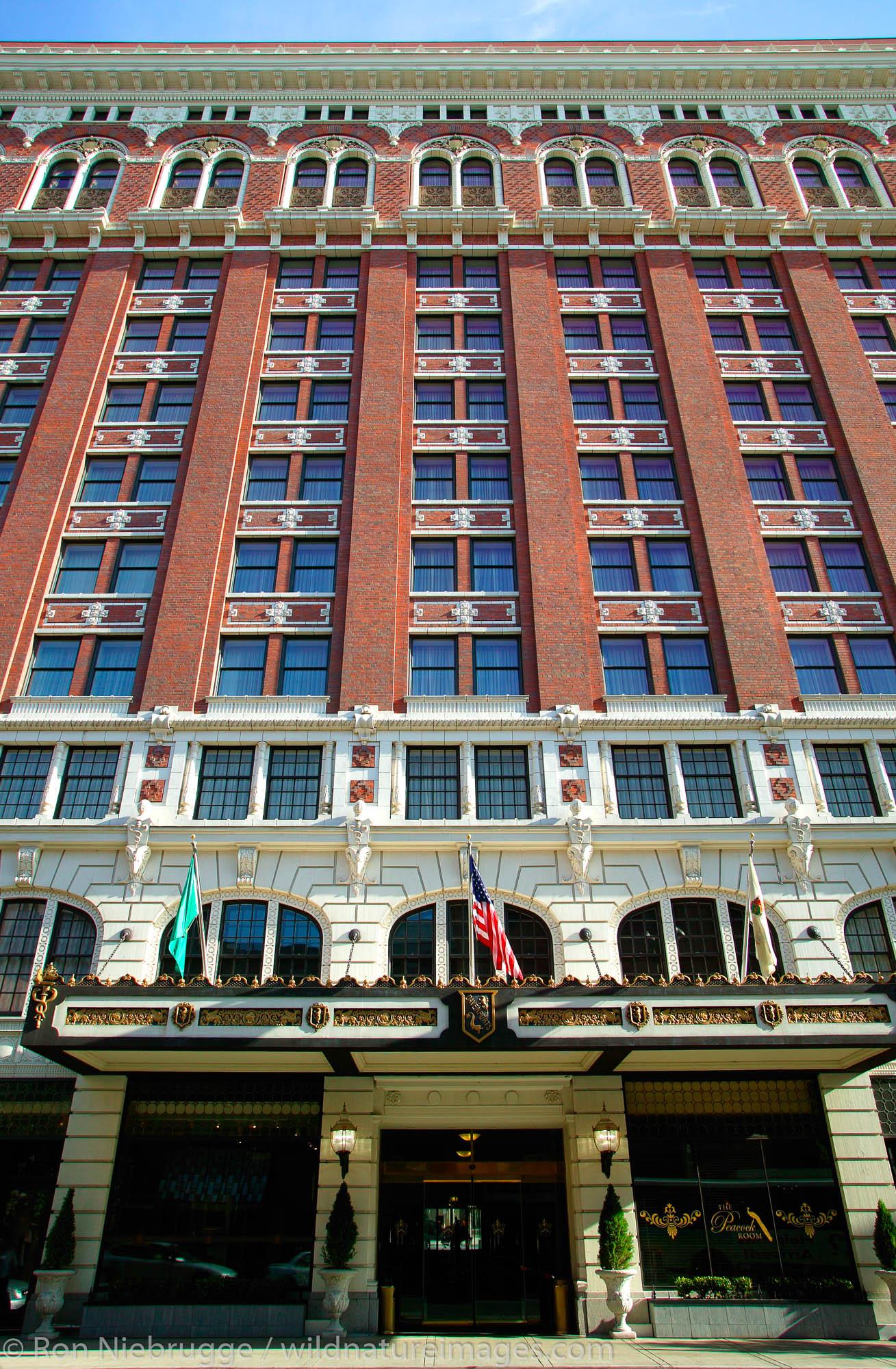 The historic Davenport Hotel in downtown Spokane, Washington.